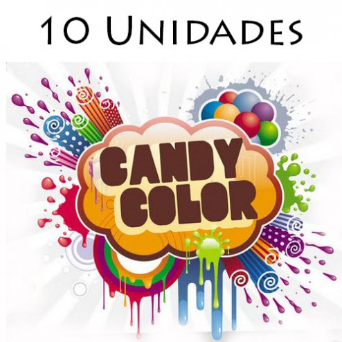 Candy Color - 10 unidades