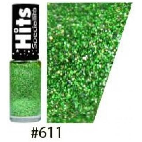 Esmalte Glitter forte 611 - Verde