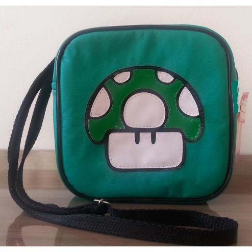 Bolsa Mario Bros. - Cogumelo 1 Up