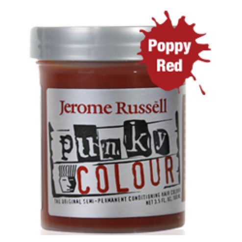 Punky Colour - Poppy Red