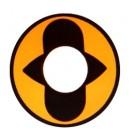 Lente de contato Naruto Sennin