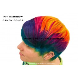 Candy Color - Kit Rainbow c/ 4 unidades