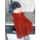 Cinza + barba